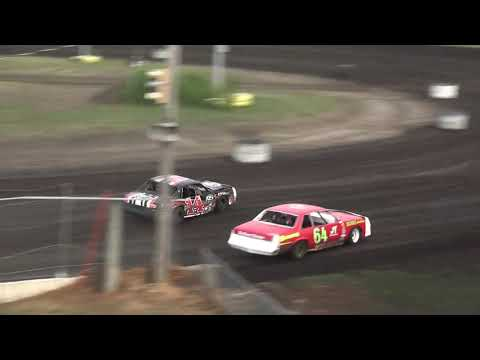 IMCA Hobby Stock Heat 1 Benton County Speedway 8/11/19