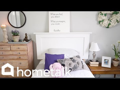 How to Build a Bed Frame With Storage for $60 | Hometalk