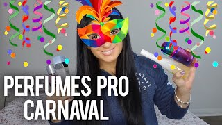 🥳 PERFUMES PRA ARRASAR NO CARNAVAL!!!!