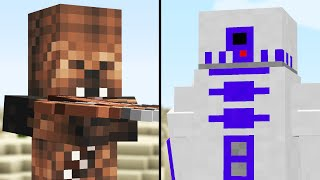 we made a Star Wars Minecraft Update (Comments to Crafting)
