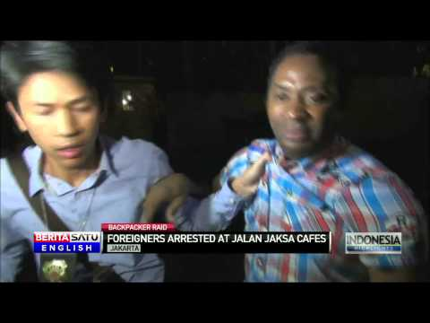 Indonesian Immigration Detain Foreigners in Raid of Popular Jakarta Backpacker Street