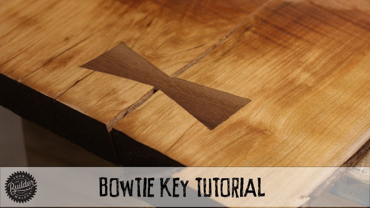 How To Create A Woodworking Bowtie With A Router Video