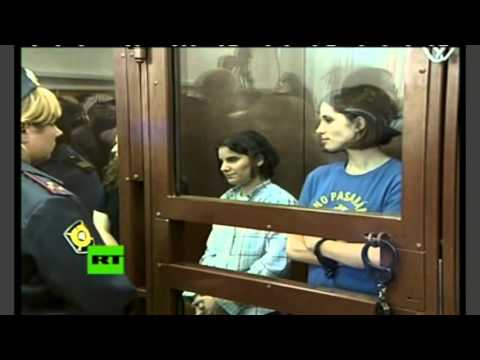 Pussy Riot verdict: Full video of announcement at Moscow court
