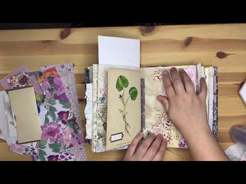 Junk Journal With Me - Ep. 4 And MINI VLOG