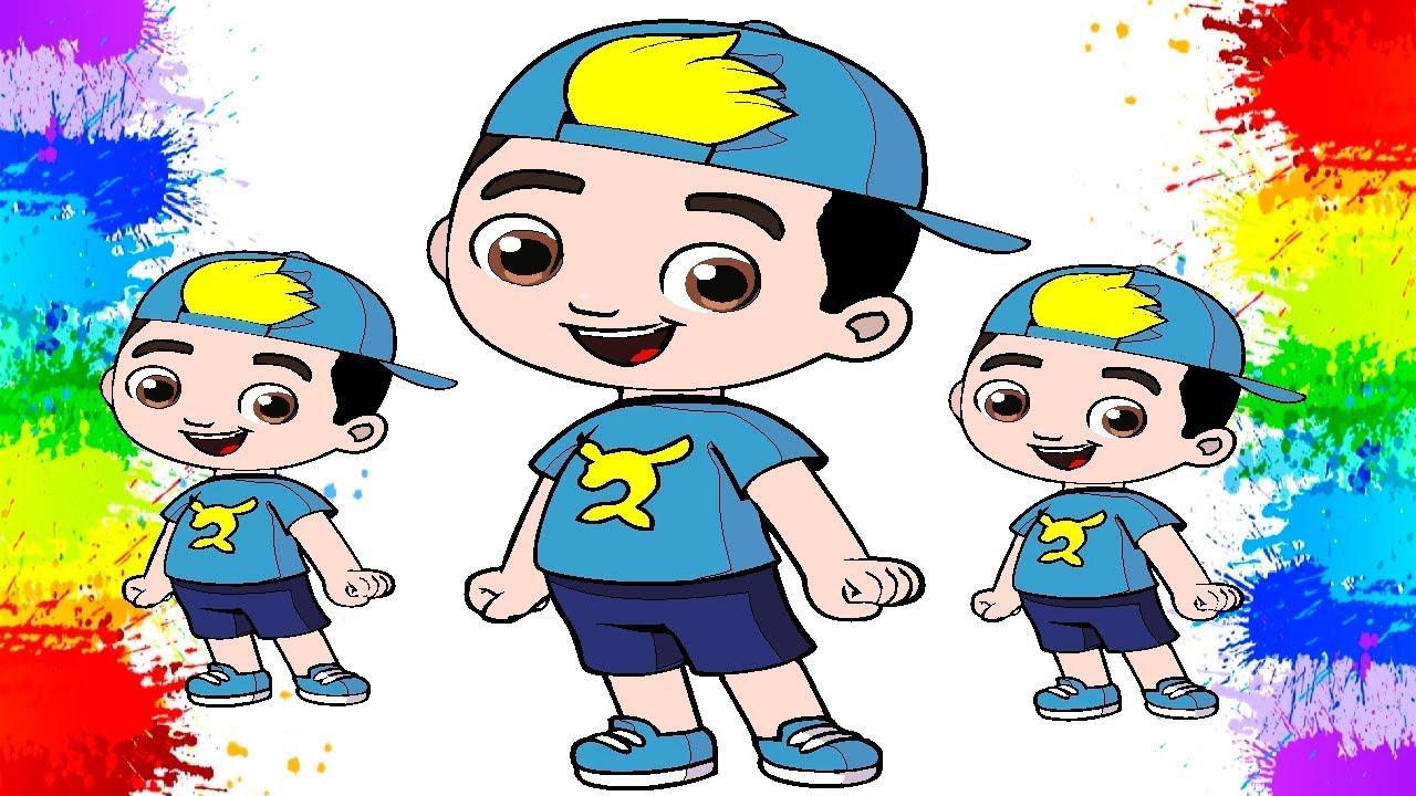 Colorindo Luccas Neto Desenho Kids