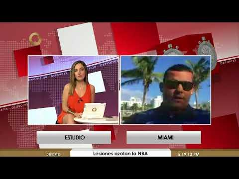 Globovisión Deportes   La derrota de Argentina ante España y la natación en Venezuela (Parte 2 de 3)