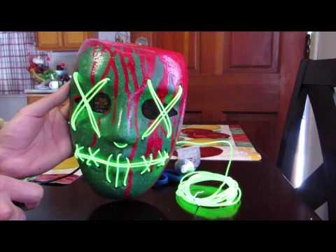 THE BEST Purge Lady Liberty Mask Tutorial | ABRA CADAVER