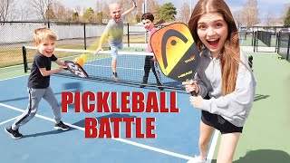 Pickleball Battle! Loser Eats Pickled Pigs Feet On A Pickle!
