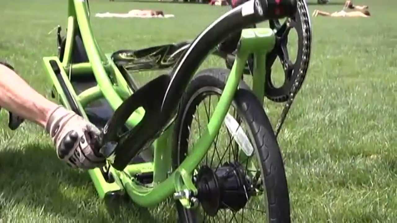 Working Out With The Elliptigo Bike Youtube