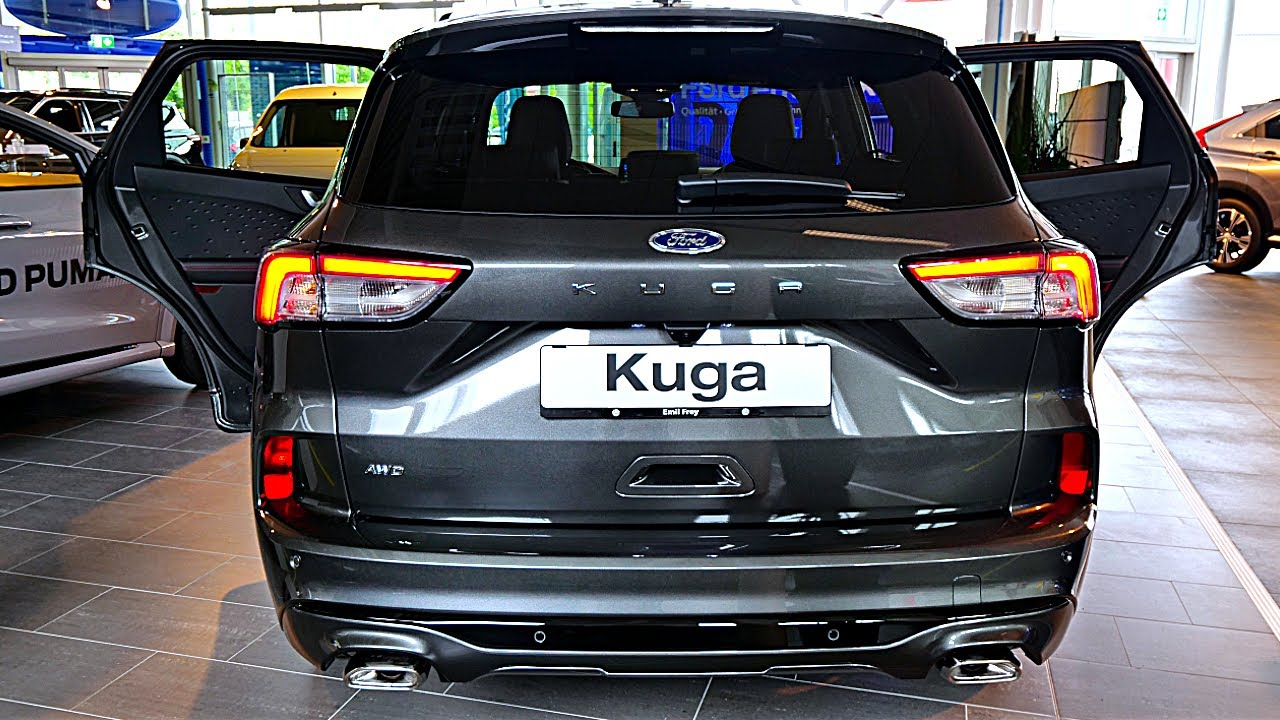 New Ford Kuga Plug In Hybrid St Line X 2020 Review Interior Exterior Youtube