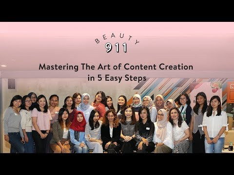 Beauty 911: Mastering the Art of Content Creation in 5 Easy Steps
