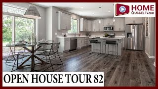 Open House 82 - Touring the Monroe Model Home at Whispering Oaks in Twin Lakes Wisconsin