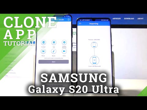 How to Migrate from Huawei phone to Samsung Galaxy S20 Ultra. – Clone apps, photos music