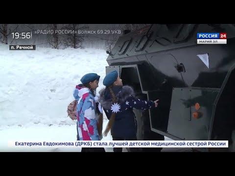 Клятва, медали, оружие, техника: школьники побывали в ракетной дивизии Йошкар-Олы