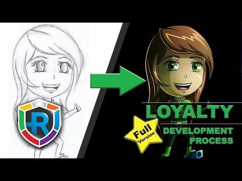 RESOLVE it - Chibi Loyalty Hero (Speed Process Video)