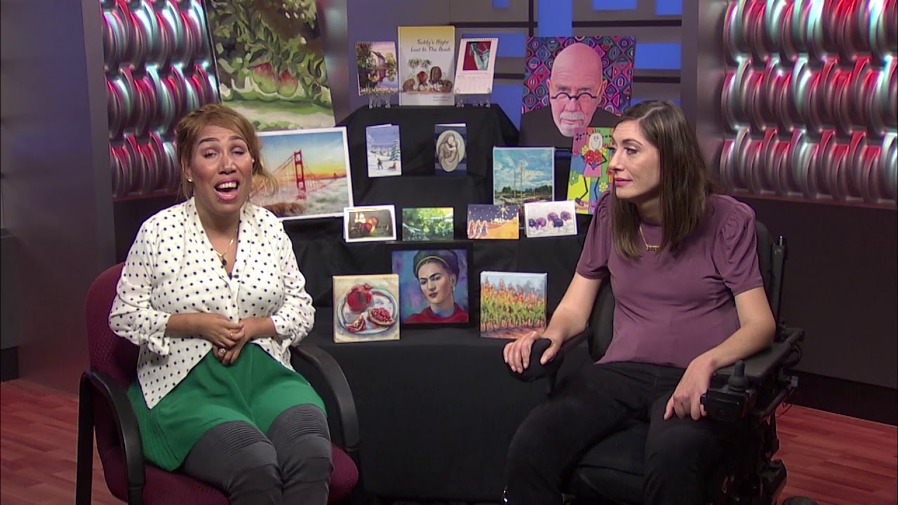 Artists Celebrate 60 Years Of Independence With Christmas Cards Painted By Mouth Or Foot Youtube