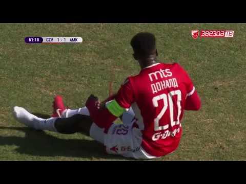 Crvena zvezda - Amkar 1:1, highlights