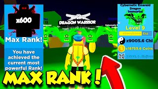 I Got Traded THE BEST IMMORTAL PETS And I REACHED MAX RANK In Ninja Legends! (Roblox)