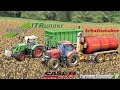 Farming Simulator 17 | Case Puma 230CVX + Schuitemaker Robusta 260 + Fendt 718 Vario + IT Runner