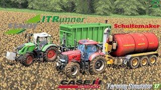 Farming Simulator 17   Case Puma 230CVX + Schuitemaker Robusta 260 + Fendt 718 Vario + IT Runner