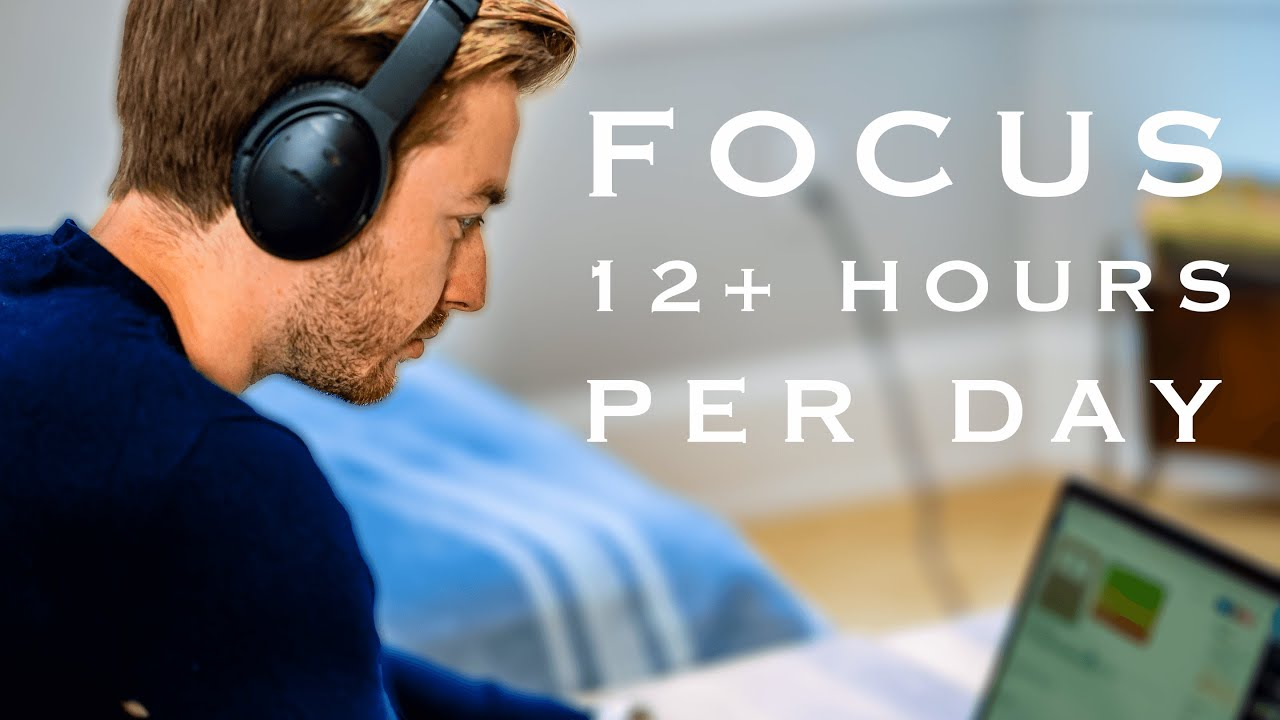 Download How I stay focused studying long hours in medical school