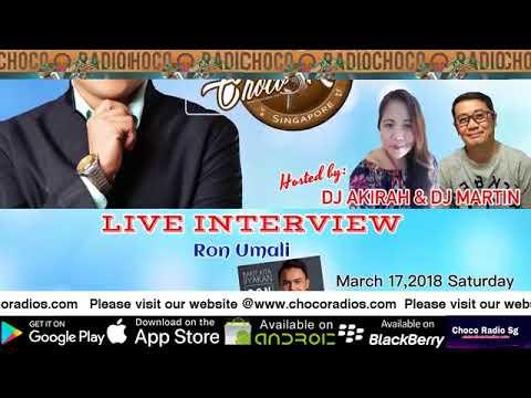 Choco Radio Exclusive : Ron Umali Live