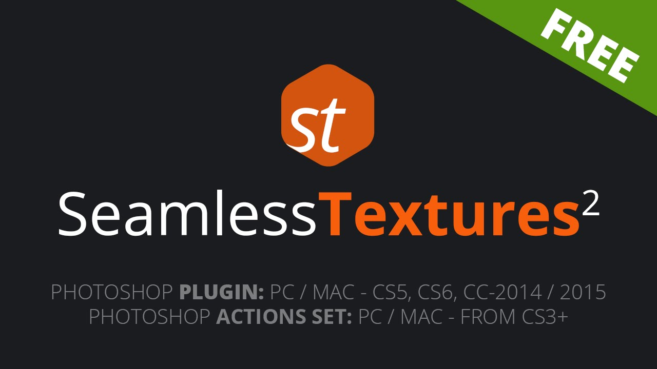 FREE Seamless Textures Generator for Photoshop
