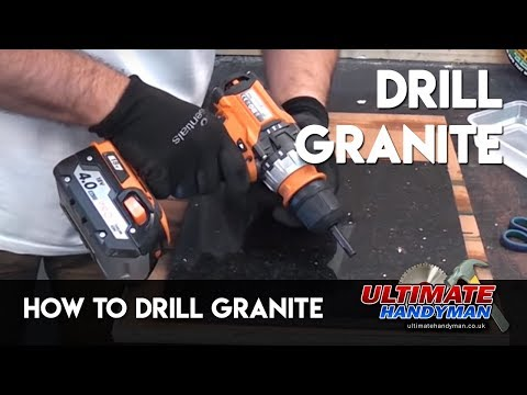 how-to-drill-granite