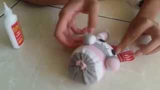 Cara Membuat Boneka Kelinci Dari Kaos Kaki