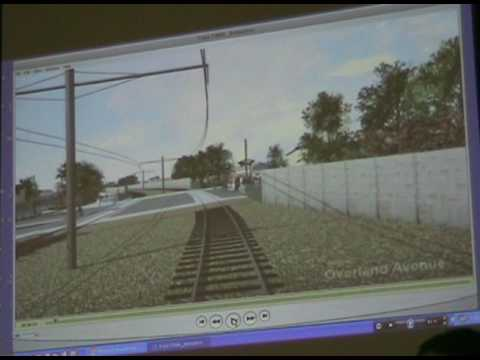 Metro Expo Line final planning meeting: Phase 2 video simulation