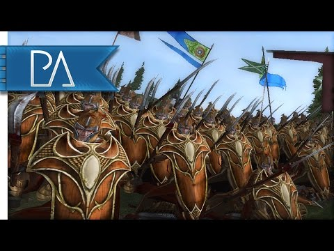 DEFENSE OF THRANDUIL'S BORDER - Third Age Total War Gameplay