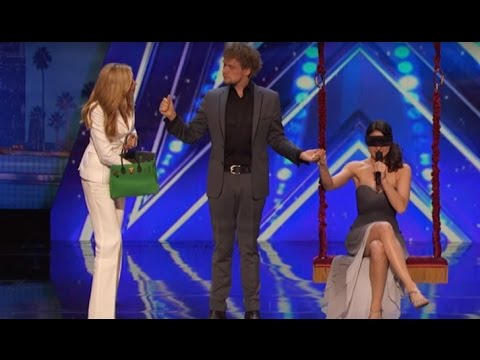 BEST Magic Show in the world 2016 - Cool Couple Americas Got Talent 2016 - The Clairvoyants