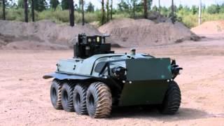 ВС России применили боевых роботов в реальном бою в сирии.
