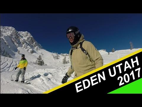 Eden Utah 2017: Powder Mountain and Snowbasin