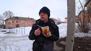 ОБЕД НА УЛИЦЕ - ВКУСНЫЙ СУП ШУРПА И ТОНКИЙ ЛАВАШ!