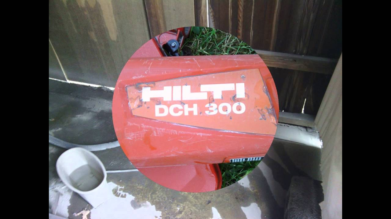 Home Depot Tool Rental - Hilti DCH 300 Concrete Saw