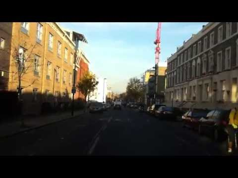London streets (118.) - Tabernacle street (EC2) - Friern Barnet Lane (N20)