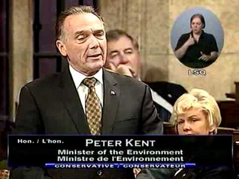 Question Period, 5 October 2011 (Parliament of Canada): The Environment
