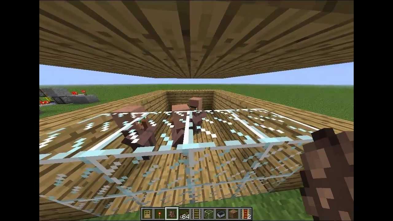 Tutorial: Dorfbewohner in Minecraft vermehren [German, HD] - YouTube