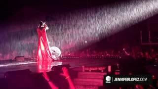 Jennifer Lopez Performs in the Rain in Recife, Brazil
