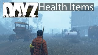 DayZ Xbox One Gameplay New Health Items Testing Guide