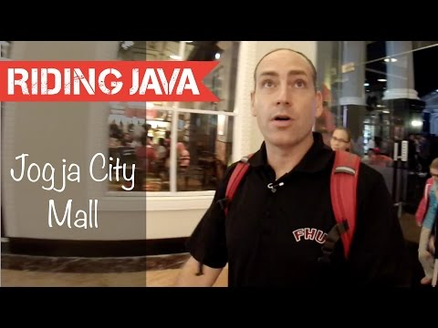 Shopping at Jogja City Mall in Yogyakarta, Indonesia
