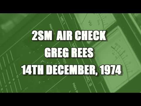 SYDNEY RADIO -  GREG REES 1974