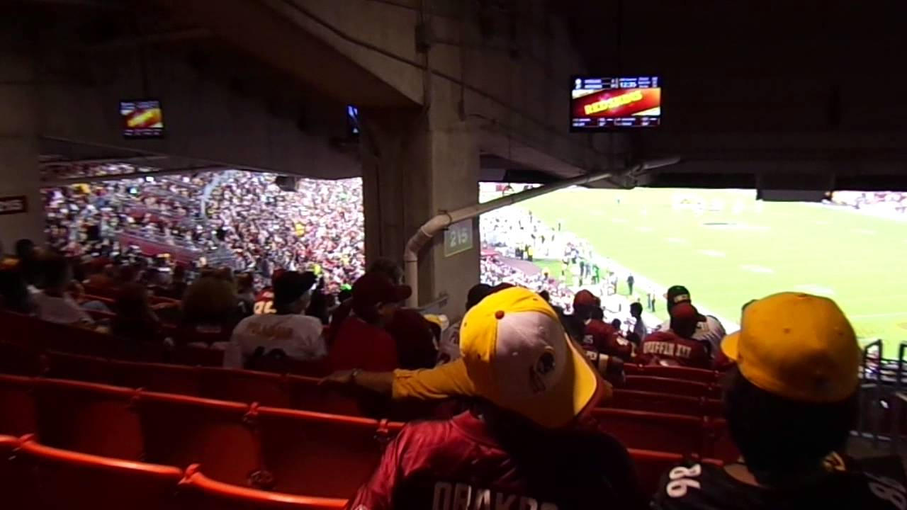 Fedex Field View Section 215 Row 22 Seats 1 And 2