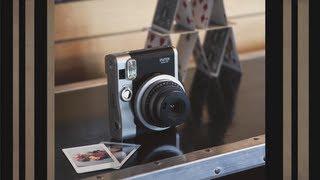 Fujifilm Instax Mini 90 NEO Brown GARANSI RESMI
