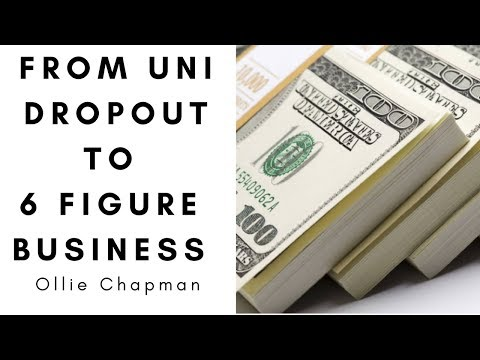 From UNI DROPOUT To A 6 FIGURE BUSINESS !!