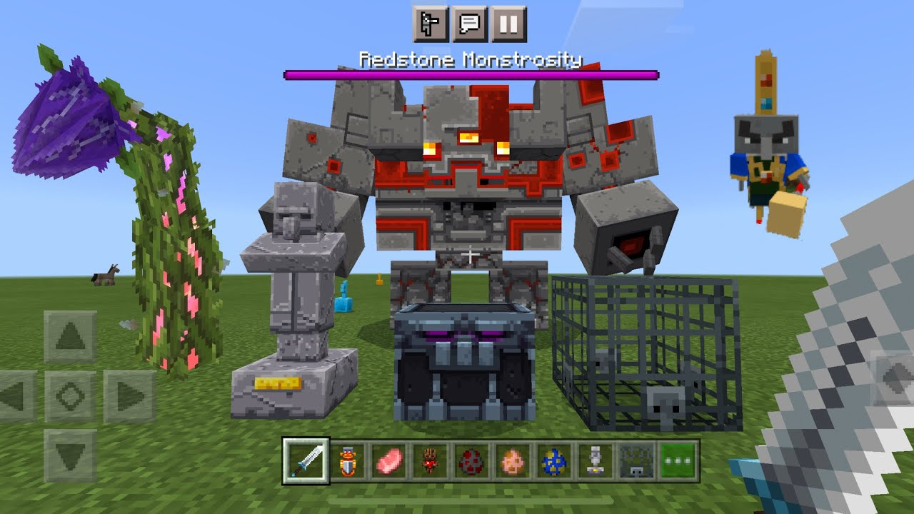 Minecraft Dungeons Replicas MOD in Minecraft PE