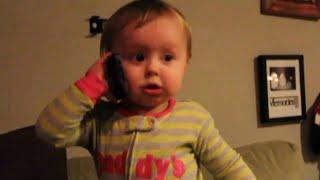 ПРИКОЛЫ С ДЕТЬМИ.  ДЕТИ РАЗГОВАРИВАЮТ ПО ТЕЛЕФОНУ! СМЕШНО!(Дети лепечут по телефону и ведут деловые беседы! ------------------------------------------------------------------------------------------------------------..., 2015-11-04T11:11:25.000Z)