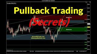 Secret to Trading Pullbacks | Crude Oil, Emini, Nasdaq, Gold, Euro