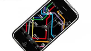 iPhone App - Tokyo Subway Route Map